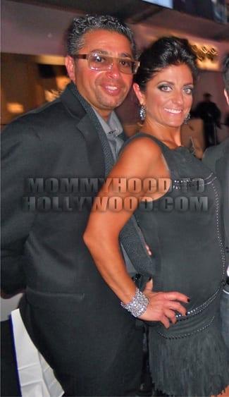 Kathy with her husband Richard Wakile