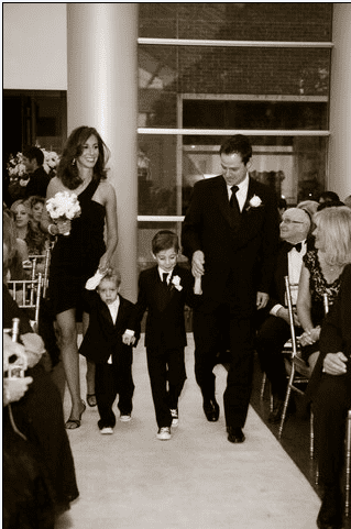 Erica Diamond and Family