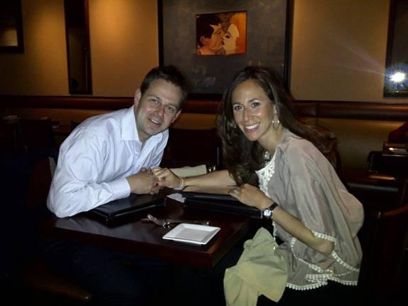 Erica Diamond With Her Husband