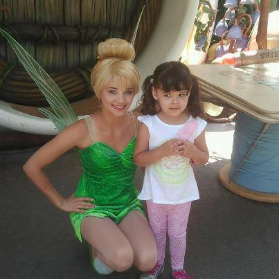 "I can't believe I'm standing next to ""THE"" Tinkerbell."