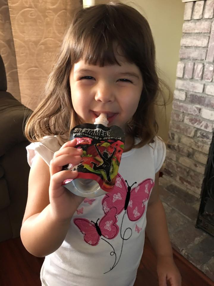 Organic SLAMMERS: The On-The-Go-Healthy-Non-Messy Snack!