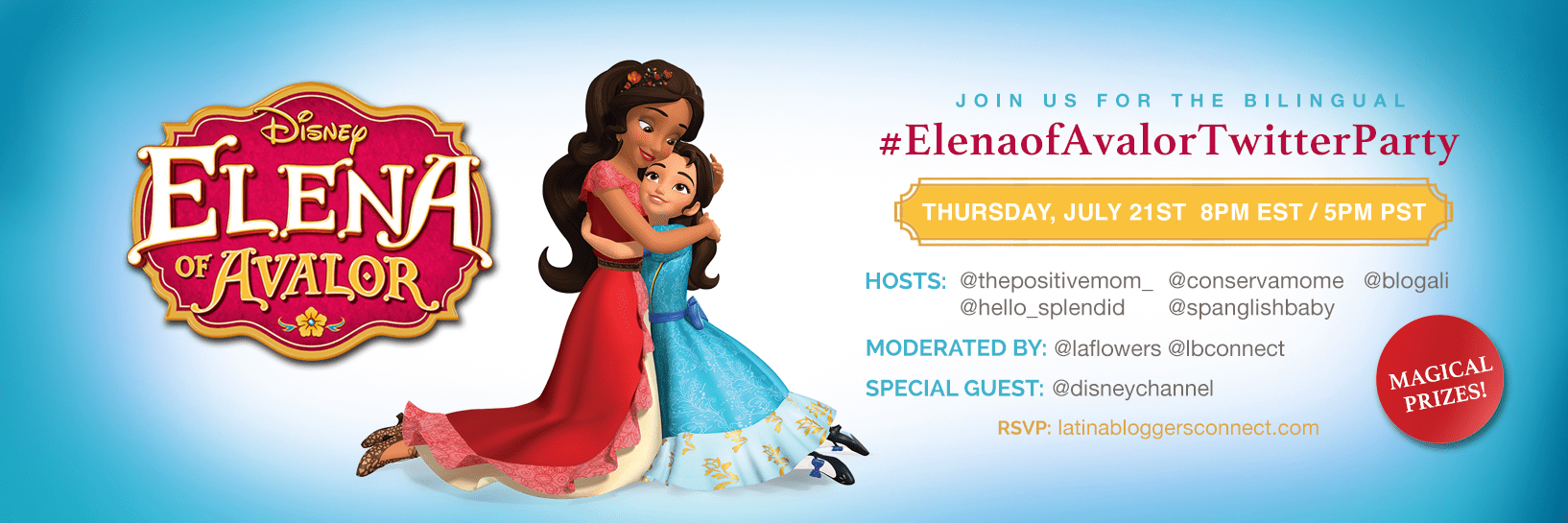 Twitter Party Alert!! #ElenaofAvalor Twitter Party, sponsored by Disney Channel