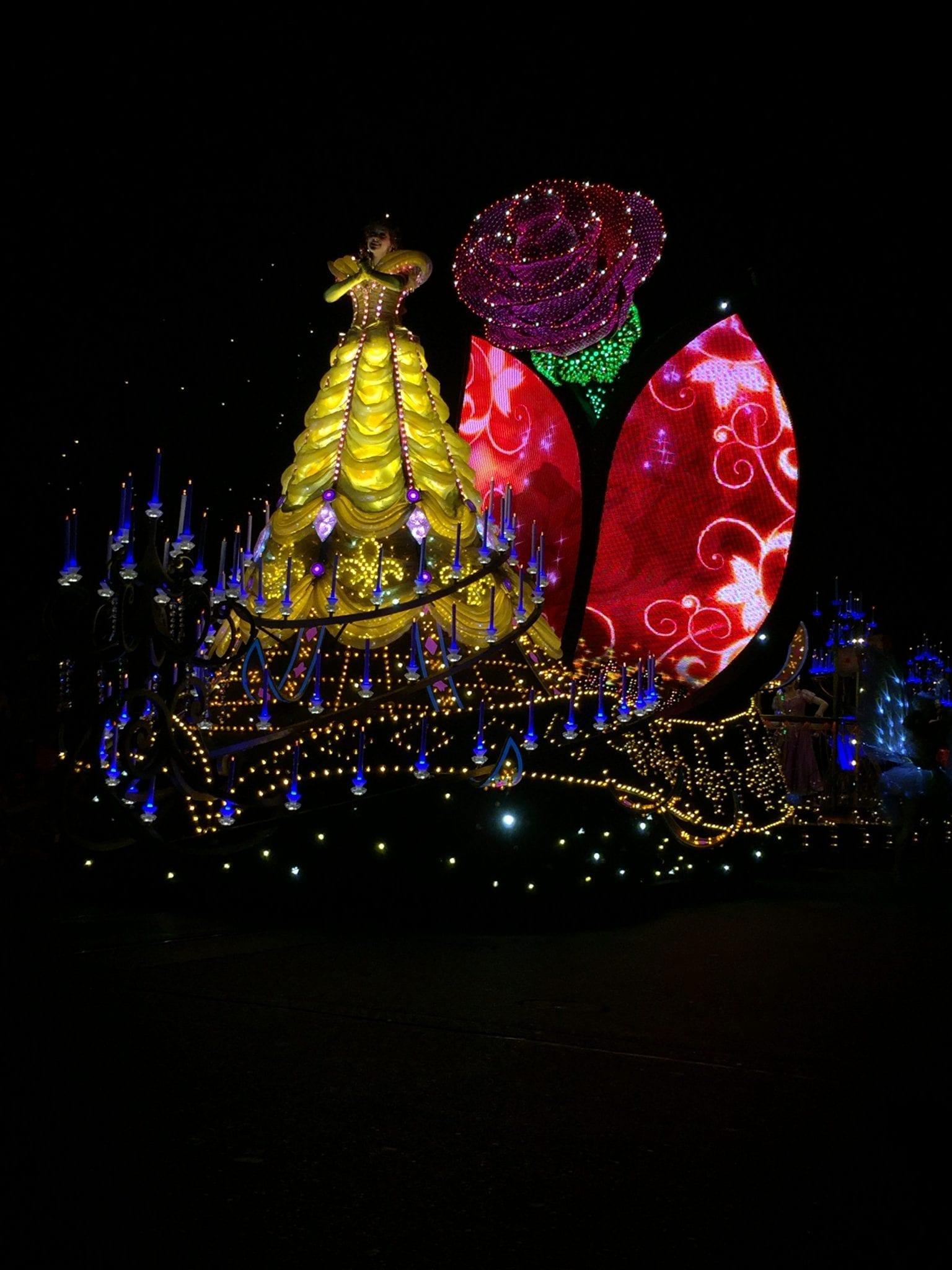 Paint the Night with Belle!