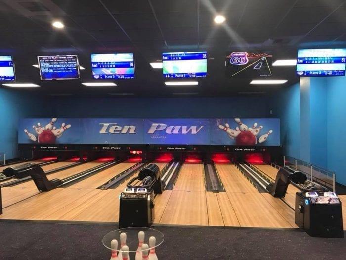 Great Wolf Bowling!