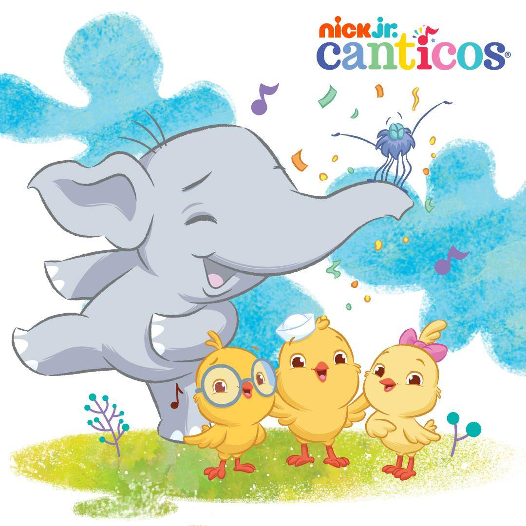 Celebrate Hispanic Heritage Month with Canticos' Bilingual Nursery Rhymes on the FREE Nick Jr. App or Nick Jr. on YouTube! #Canticos #Nickjr #HispanicHeritageMonth #LearnSpanish #aprenderespaño