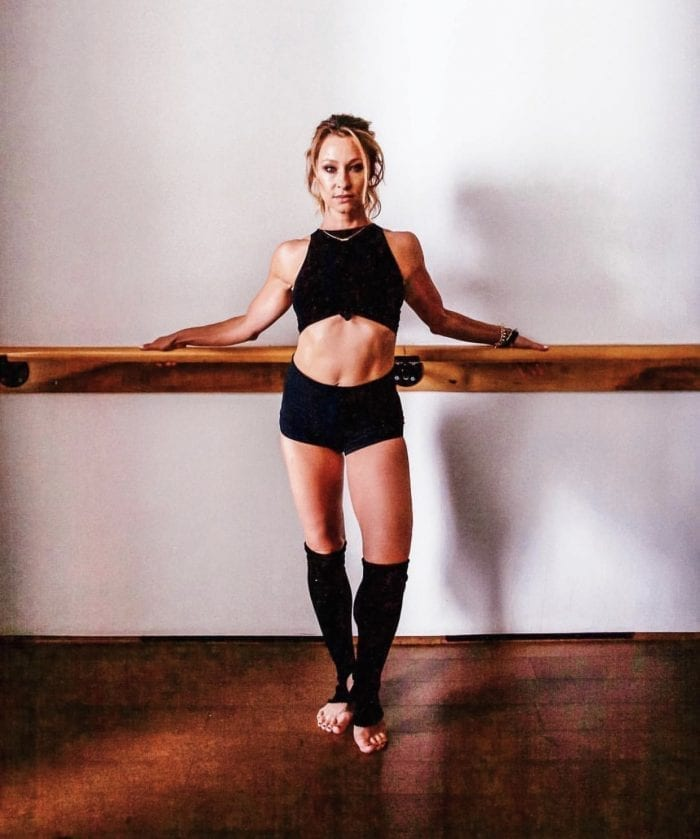 Soulful Sculptor of Sweaty Bodies and Founder of La Barre Belle Marnie Alton: Photo Credit: Marnie Alton
