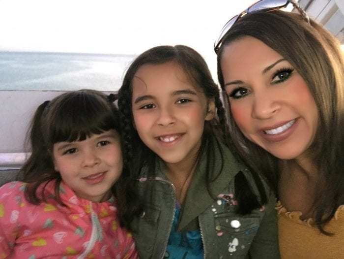 Michelle with her daughters Madison and Mia!