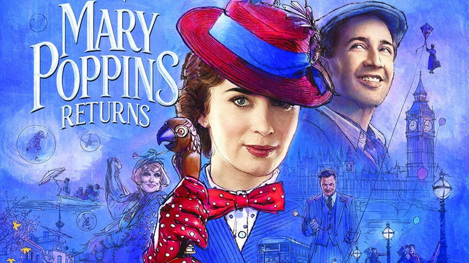 """Mary Poppins Returns,"" Here's Disney's First Official Trailer! #MaryPoppinsReturns"
