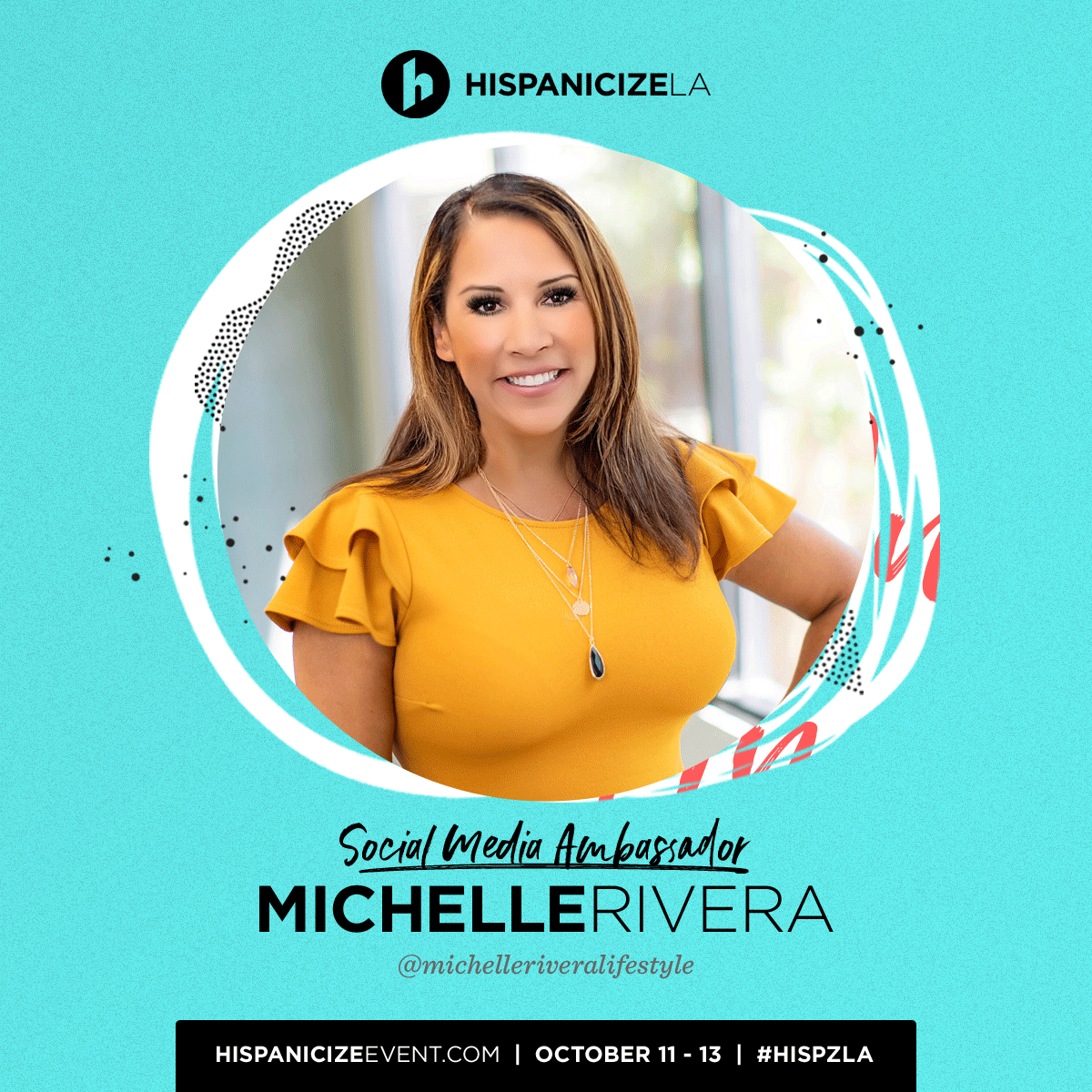 Michelle Rivera is Joining Hispanicize As A Social Media Ambassador. #HISPZLA