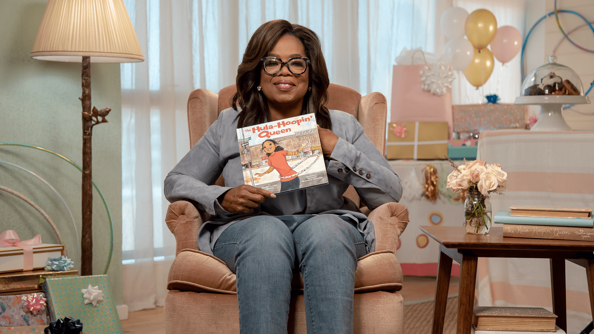 Oprah Winfrey reads The Hula-Hoopin' Queen for SAG-AFTRA Foundation's children's literacy program Storyline Online®