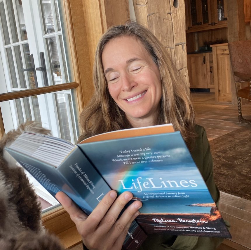 Interview With Melissa Bernstein, Co-Founder of Prestigious Toy Company, Melissa & Doug and Author of New Book LifeLines
